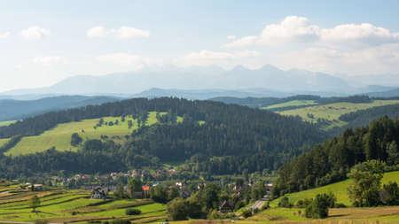 Mountains view. Pieniny, Poland.