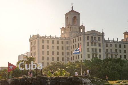 Hotel Nacional de Cuba, a symbol of the hotel industry on the island since 1930. Havana. Cuba.