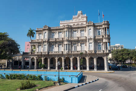 Embassy of Spain in Old Havana. It is one of the most visited embassies in the city. Havana. Cuba. January 2, 2019 写真素材 - 150565320