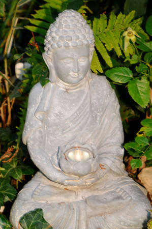 Buddha statue made of stone