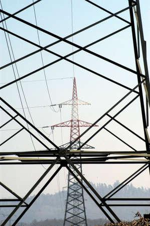 380 kv power line + pylon