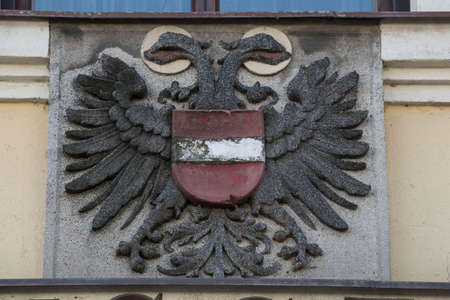 the double-headed eagle of the austro-hungarian monarchy