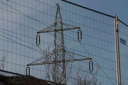380 KV High Voltage Line
