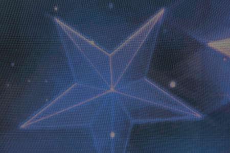 star symbol on a screen