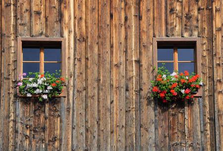 typical house in ausseerland, austria