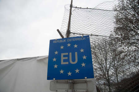 EU border Republic of Austria