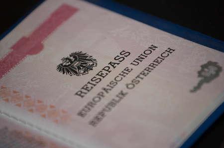 passport of the republic of austria, identification in the european union