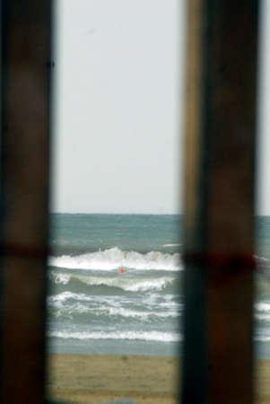 coastal ocean environment in the summer, holidays at the sea