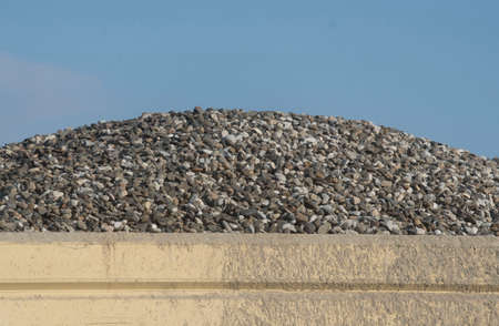 crushed stone and sand as resources in the industrial building sector