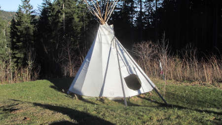 tipi tent as a futuristic form of living, modern and innovative design approaches