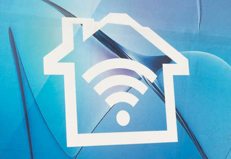 symbol for free WiFi or WLAN (wireless LAN) access point