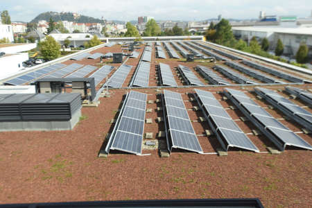solar collector field and photovoltaics for generating sustainable energy and power