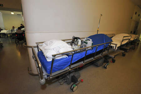 Hospital bed and bed occupancy in health care and medical system