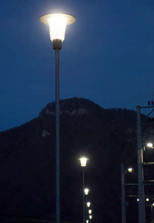 street light in the city, artificial lighting for the night