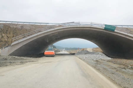 a bridge as a structure that crosses obstacles in traffic and transport