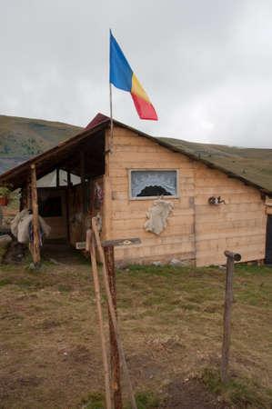 sheep breeding and nomadic shepherds in the Carpathians in Romania