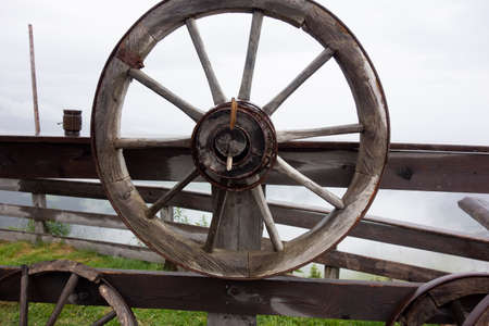 a wheel, an early invention of humankind and important tool