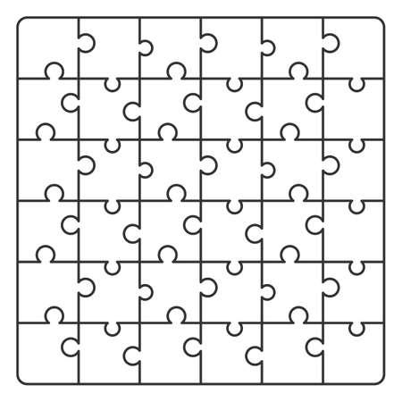 패턴 라인 퍼즐. 배경 디자인을위한 벡터 일러스트 레이션