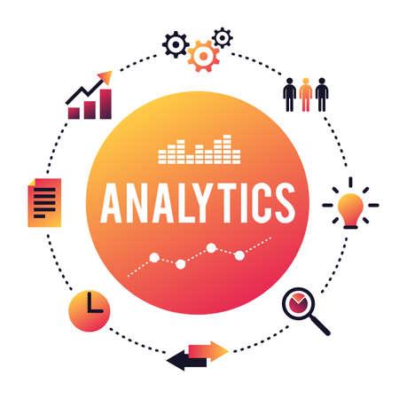 analyze: Business Analytics concept