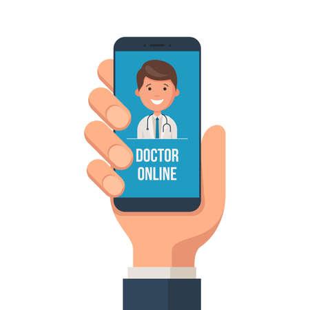 Healthcare mobile service concept