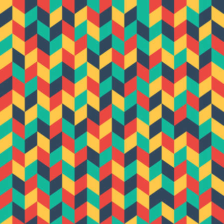 Color mosaic seamless pattern. Colorful abstract geometric background. Vector illustration for web, website background or a poster, invitation or greeting cards Illustration