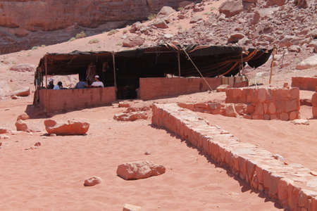 wadi: Camping in Wadi Rum