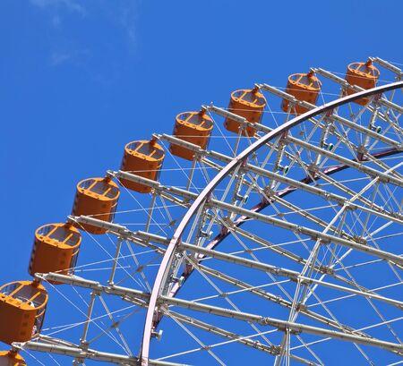 Quarter of Ferrish Wheel at Minato Mirai Yokohama - Japan