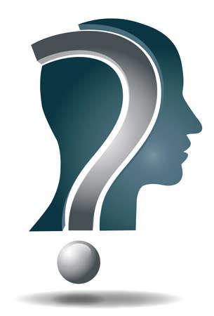 unsolvable: Question head Illustration