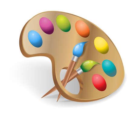 pallets: painter palette colors