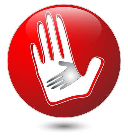helping hands Stock Vector - 17173836