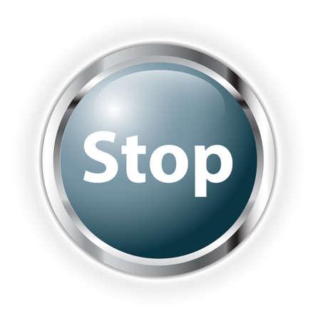 stop Stock Vector - 17234111