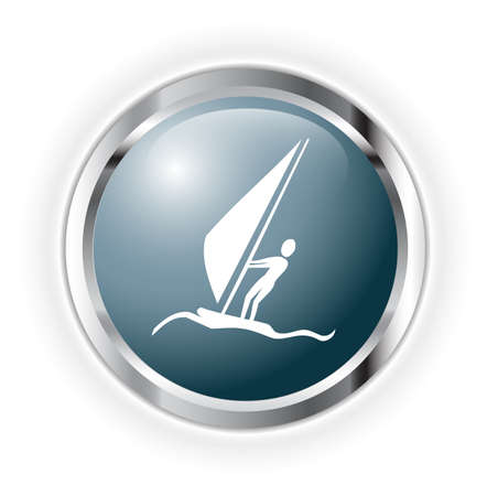 windsurfing Illustration