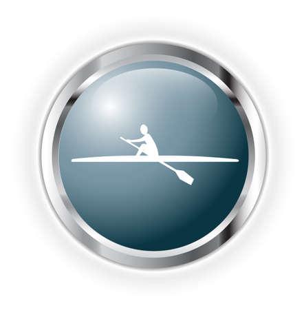 canoeing Stock Vector - 17252856