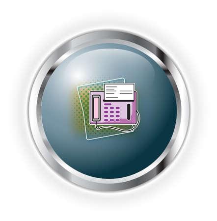 fax Stock Vector - 17284936