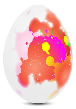happy eastern egg Vector