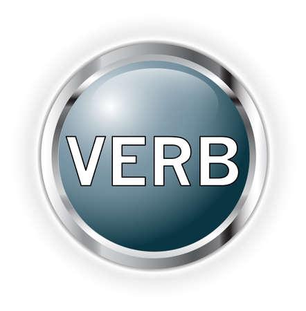noun: Verb Stock Photo