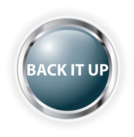 back it up Stock Photo