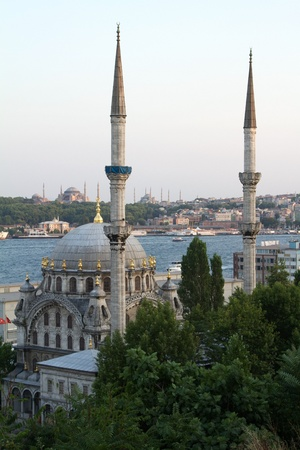 nusretiye mosque in istanbul photo
