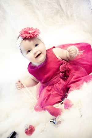 6 12 months: Fashion baby girl
