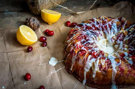 cranberry cake photo