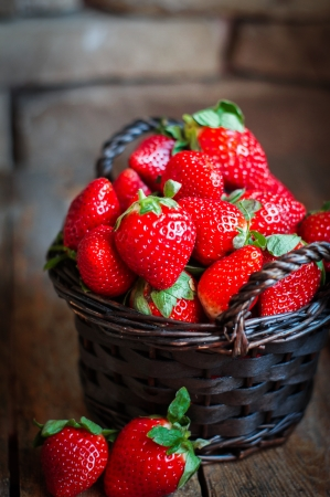 strawberries photo