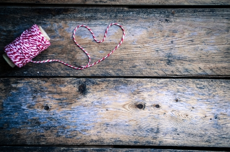 knitted heart photo