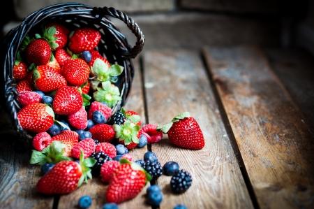 berries Banco de Imagens