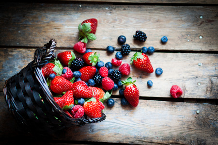 berries Reklamní fotografie