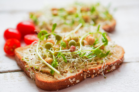healthy sandwich Banco de Imagens