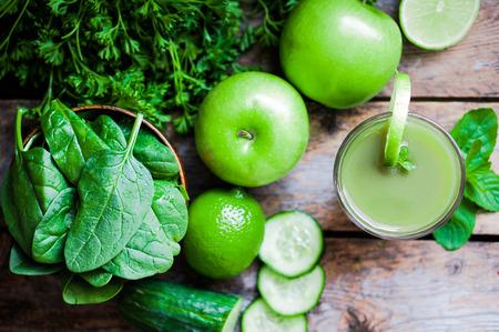 Verde frullato Archivio Fotografico - 26294496