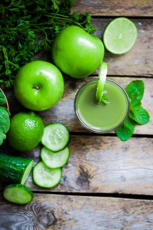green smoothie Stock fotó
