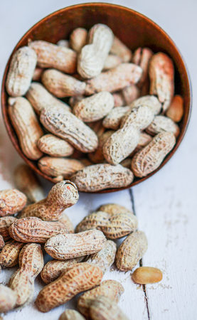Roasted peanuts photo