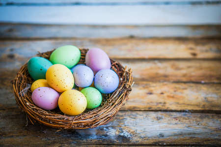 nest egg: easter eggs