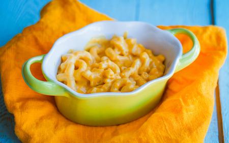 マカロニとチーズ 写真素材